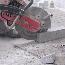 diamantzaag voor benzine doorslijpers beton
