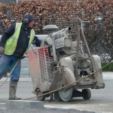 diamantzaag voor vloerzaagmachines beton