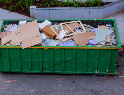 Welk afval hoort thuis in een gemengde container?